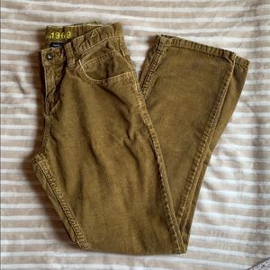 GAP Corduroy Straight-leg Pants EUC